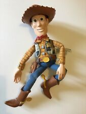 2008 MATTEL, TOY STORY, SHERIFF WOODY, TALKING FIGURE, FULLY WORKING.