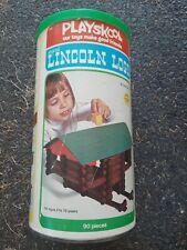 Playskool Lincoln Logs Scout set