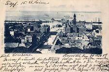 2939/ Foto AK, Helsingborg, Stadt+Hafen, 1909