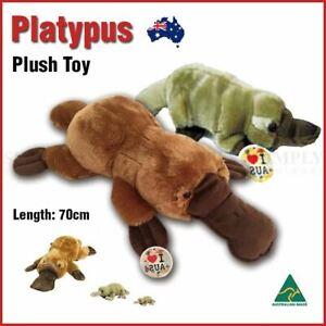 Lying Platypus Plush Soft Toy Huggable Stuffed Kids Gift Souvenir Animal Pillow