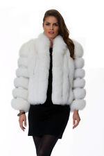 White Fox Fur Bolero Jacket for Women - The Marilyn