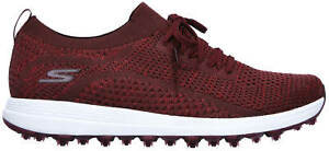 Skechers Women's Go Golf Max Glitter Golf Shoes 17005BURG Burgundy Ladies New