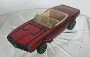 hot wheels redline custom firebird 1968 red