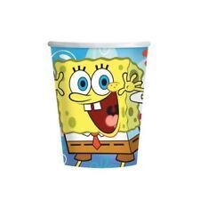 8 Bob Esponja Infantil Fiesta 266ml Desechable Vasos de papel