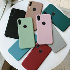 For Xiaomi Redmi Note 9S 8T 7 5 Pro 9A Shockproof Soft Silicone Matte Case Cover