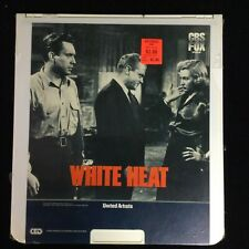 White Heat CED Laser Disc VideoDisc SelectaVision - NEW SEALED 1982