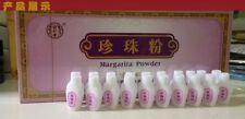 2box同仁堂珍珠粉 Tongrentang pearl powder white spot acne removing Raise colour beauty