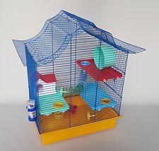 Hamster Cage Mice Mouse Tube Platform House Water Bottle Wheel Pet Gerbil Pet