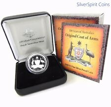 2008 COAT OF ARMS Silver Proof Coin