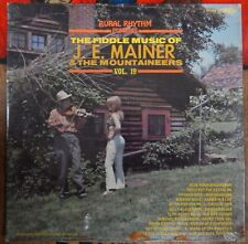 Fiddle Music of JE Mainer And The Mountaineers Vol 19 LP Rural Rhythm RR-JEM-248