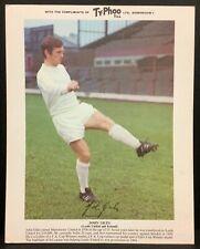 John Giles Leeds United Typhoo Tea International Football Stars Card 1969/70
