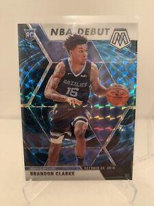2019-20 Panini Mosaic Brandon Clarke Nba Debut Genesis Card SSP