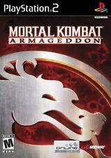 Mortal Kombat Armageddon PS2 NEW! BATTLE, FIGHT, MARTIAL ARTS KARATE, EPIC KILL