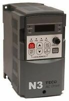 TECO WESTINGHOUSE AC VFD DRIVE N3-202-C 2HP/7.5A 230V 3 PHASE IN 230V OUT NEW