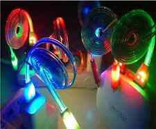 LED Light-up YELLOW USB Data Charger Cable Charging Cord for Android Cell Phone