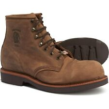 "NEW $295 Chippewa Ellison 6"" Leather Boots 20065 lace up Chocolate 8 8.5 9  USA"