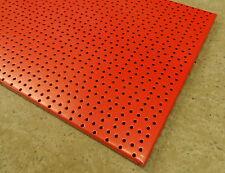 Haut 4x tegometall Tego Panneaux Perforés atelier rouge 100x40cm paroi perforée