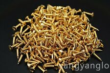 Thousand of Golden Pickguard Screws For Fender Strat/Tele Electric Guitar Bass
