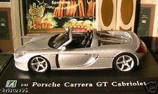 PORSCHE GT CARRERA CABRIOLET OLIEX 1/43 SPORT RACE GRIS CARARAMA SILVER GREY