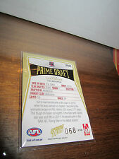 NO 68 JACK TRENGOVE 2013 SELECT PRIME DRAFT PICK CARD MELBOURNE DEMONS PD31