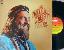 Willie Nelson ORIG OZ LP Sound in your mind EX '76 CBS SBP234812 Outlaw country