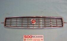 FIAT 500 F/L/R MASCHERINA COMPLETA IN ALLUMINIO GRIGLIA MUSO FRANCIS LOMBARDI