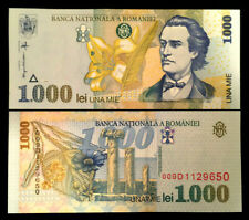 Romania 1000 Lei 1998 Banknote World Paper Money UNC Currency Bill Note