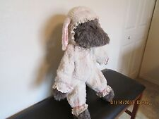 """VINTAGE   -    """" WOLF IN SHEEP'S CLOTHING """"   Plush Stuffed"""