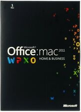 Microsoft Office 2011 Home & Business for Mac W6F-00202 Word Excel Outlook (New)