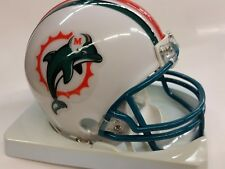 NFL Miami Dolphins Replica Mini Helmet, NEW (1997-2012 Throwback)