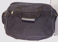"""Samsonite Excel II Black Traveling Canves Carry On Bag With  17"""" x 11"""" x 6"""""""