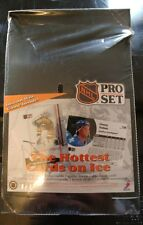NEW Factory Sealed 1991-92 NHL Pro Set Hockey Cards Box English Version