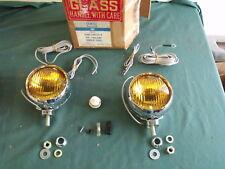 NOS 1965 1966 1967 1968 Ford Galaxie Mustang Bronco Fog Lights Rotunda OEM 67