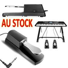 Piano Keyboard Damper Sustain Pedal Foot Switch Universal Yamaha Casio Roland AU