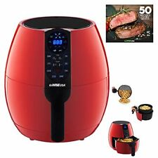 NEW GoWISE USA 3.7 Quart Programmable Air Fryer with 8 Cook Presets GW22639