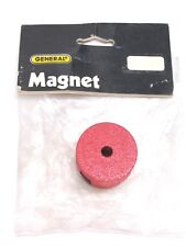 NEW! GENERAL TOOLS PERMANENT BUTTON ALNICO MAGNET, 18.5 lb. PULL, No. 372E