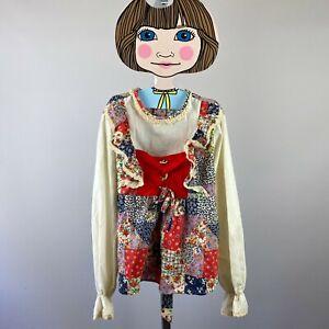 60\u2019s Medium Shirt Little Girl\u2019s Vintage 60\u2019s Crop Top S M 60\u2019s Small 60\u2019s Bikini Top Vintage Elephant Shirt Girl\u2019s Vintage Top