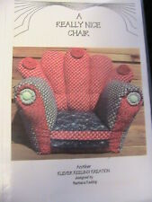 REALLY NICE CHAIR~BARB KEELING for cloth + other doll~CHAIR pattern RARE 1990's