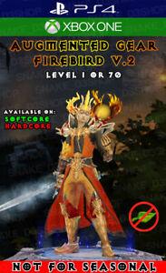 Diablo 3 - PS4 - Xbox One - Unmodded Primal Wizard Set - Firebird's Finery V.2