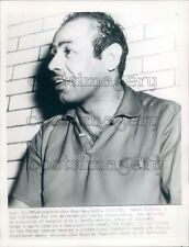 1954 Welterweight Boxer Ramon Fuentes Press Photo