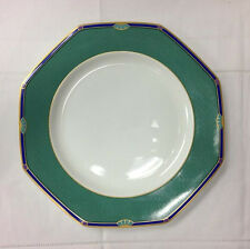"HUTSCHENREUTHER ""SAVONA"" GREEN DINNER PLATE 10 1/2"" BONE CHINA NEW GERMANY"