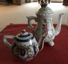Vintage Miniature Teapots X 2
