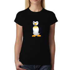 Penguin Animals Funny Women T-shirt XS-3XL New