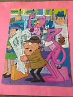 2 Vintage Jigsaw Puzzles - The Pink Panther - 100 Large Piece 1976 & 1979