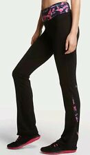 NWT Victoria's Secret VSX Knockout Yoga Pants Yoga Rise Straight Leg Small