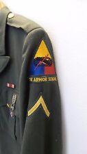 US Army Vietnam Era Green Dress Uniform Armor School