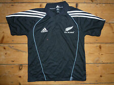 medium ALL BLACKS RUGBY SHIRT Rugby top jersey POLO  SHIRT RUGBY WORLD CUP