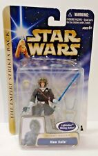 Star Wars Han Solo Lightsaber slicing action Hasbro hoth rescue new sealed
