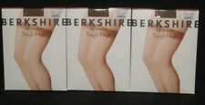 Berkshire Sheer Leg Thigh High Invisible Toe  Size C-D 3 Pair Color Stone