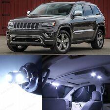 17 x Premium Xenon White LED Interior Lights Kit 2011-2014 Jeep Grand Cherokee